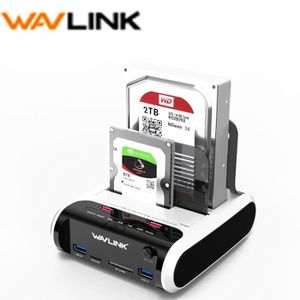 STATION D'ACCUEIL  Wavlink USB3.0 à Station d'accueil Disque Dur Exte