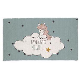 TAPIS TODAY Tapis Coton Nice Night - 60 x 120 cm