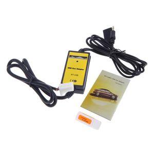 CÂBLE AUDIO VIDÉO Auto Voiture USB Aux-in Adapteur Câble MP3 Lecteur