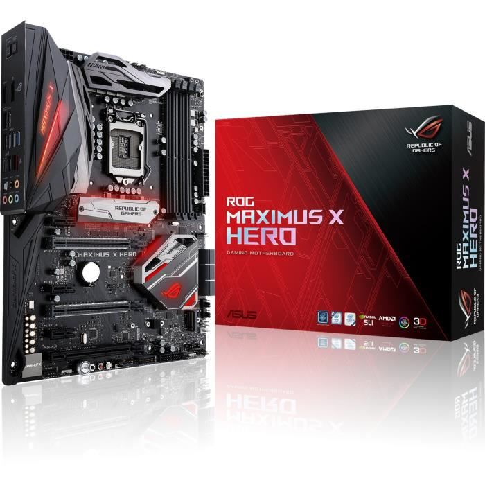ASUS Carte Mère ROG MAXIMUS X HERO