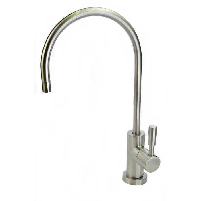 Finerfilters eau par osmose inverse filtre robinet - nickel brossé