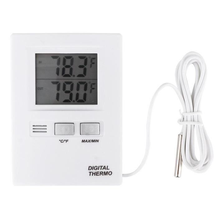 Eiffel Thermomètre Intérieur et Extérieur Pour Maison