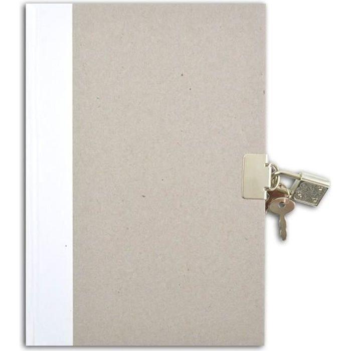TOGA Journal intime à décorer - ligné - 13x18