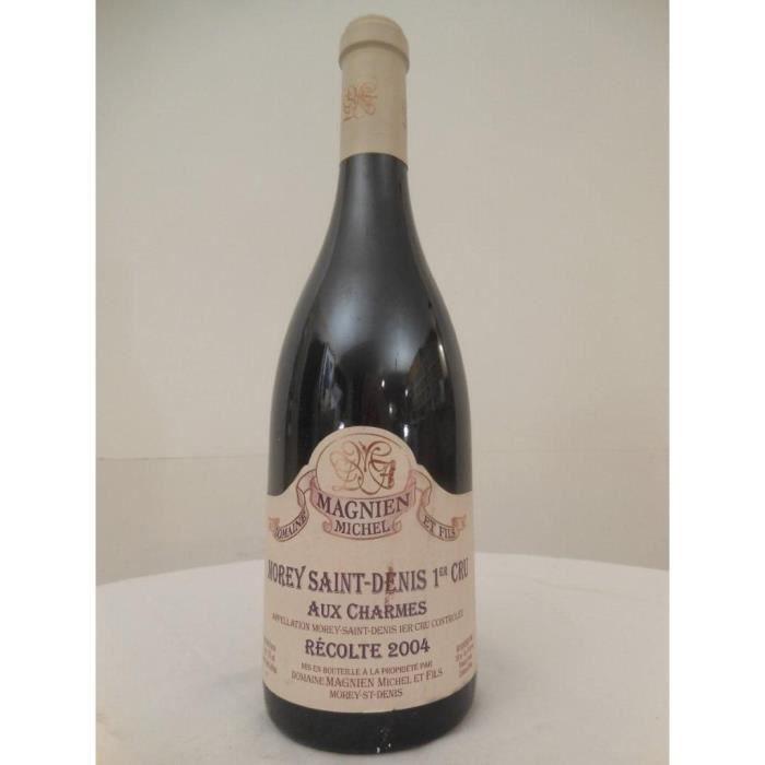 morey saint-denis michel magnien premier cru aux charmes rouge 2004 - bourgogne france