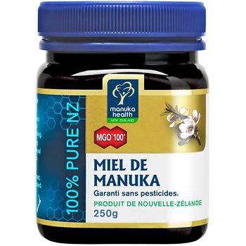 Manuka Health Miel de Manuka MGO 100 250g