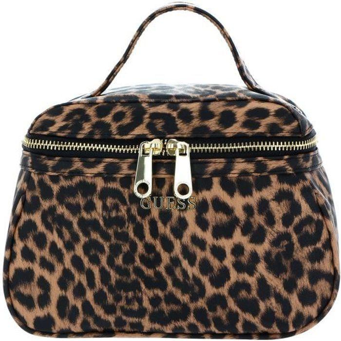 GUESS Lalie Beauty Bag Natural [124484] - trousse de toilette / maquillage kit de confort voyage