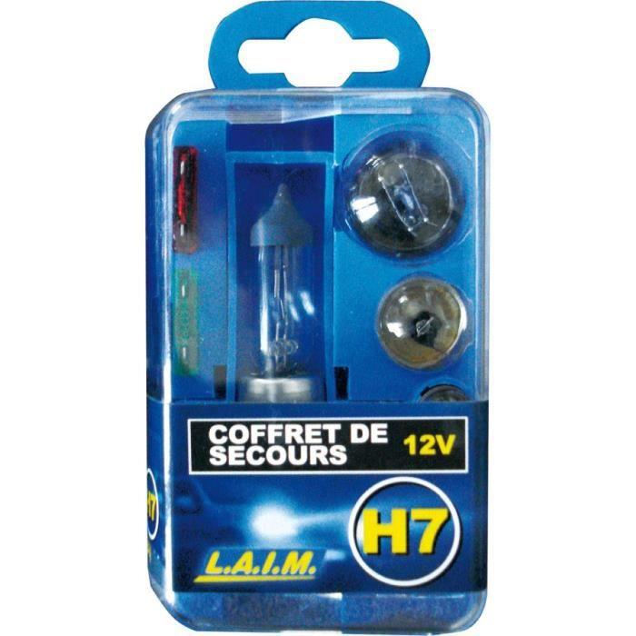 COFFRET DE SECOURS H7 12V