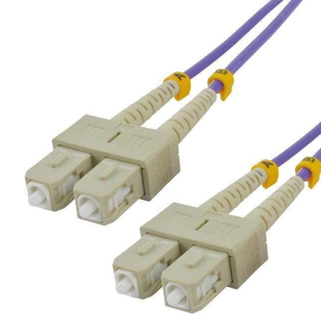 MCL Câble réseau - 1 m Fibre Optique - Pour Périphérique réseau