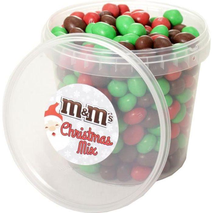 Mm's - M&M's Box Christmas Mix Brown Édition Noël