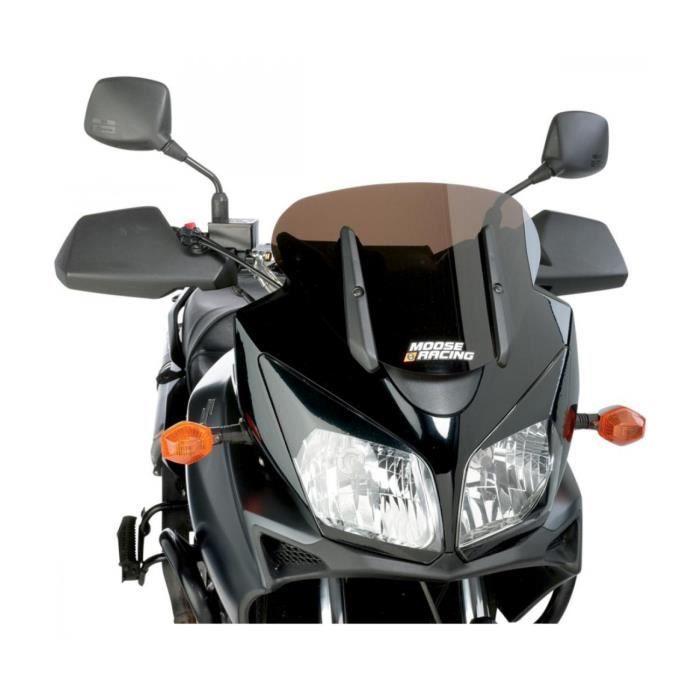 SUZUKI DL 650 V-STROM-04/11 / 1000 V-STROM-04/13- BULLE COURTE NOIRE-2312-0207