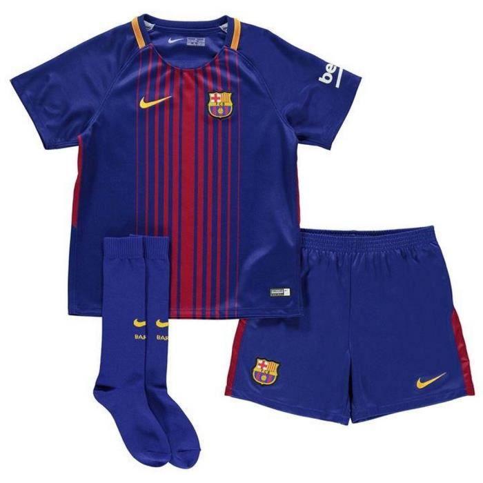 Nouveau Mini-Kit Officiel Enfant Nike FC Barcelone Saison 2017-2018