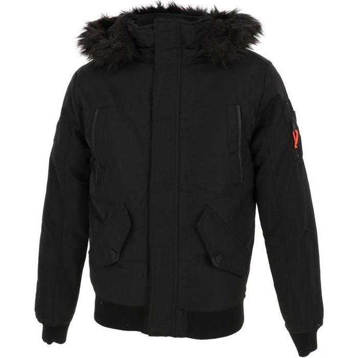 Blouson Shark ii noir jacket - Deeluxe