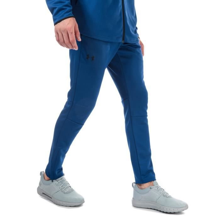 Pantalon Under Armour Ua Mk-1 Warm-Up Pour Homme En Bleu.
