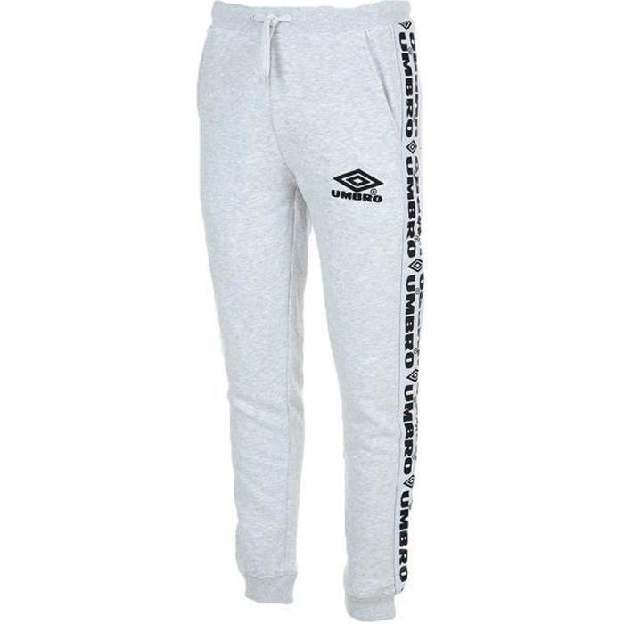 Pantalon de Jogging Gris Homme Umbro Street FLC