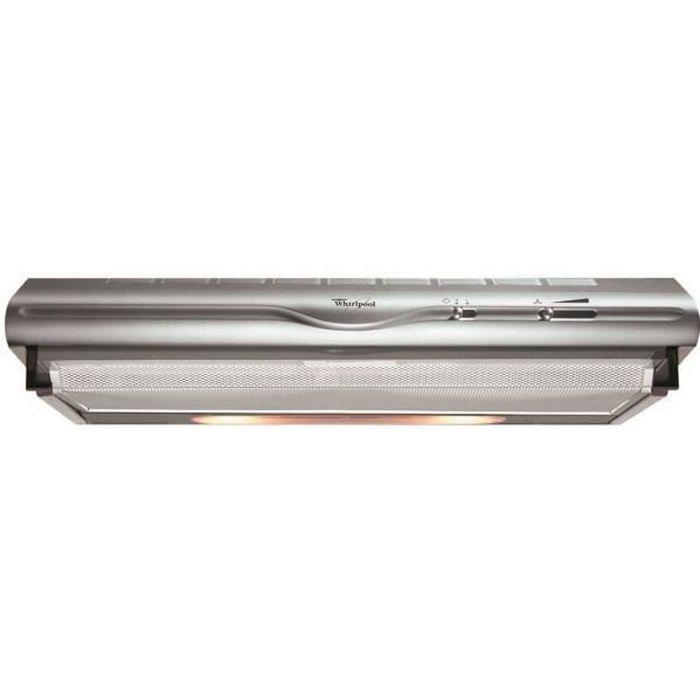 WHIRLPOOL 1119625 - ELECTROMENAGER - HOTTE - Hotte visière - AKR4411IX