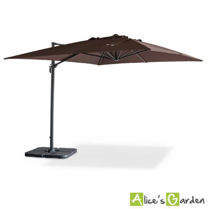 parasol d port 3x4m st jean de luz achat vente parasol ombrage parasol d port st jean de. Black Bedroom Furniture Sets. Home Design Ideas