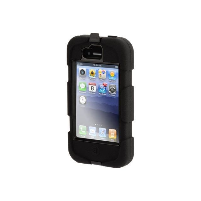 coque iphone 4 4s survivor noire