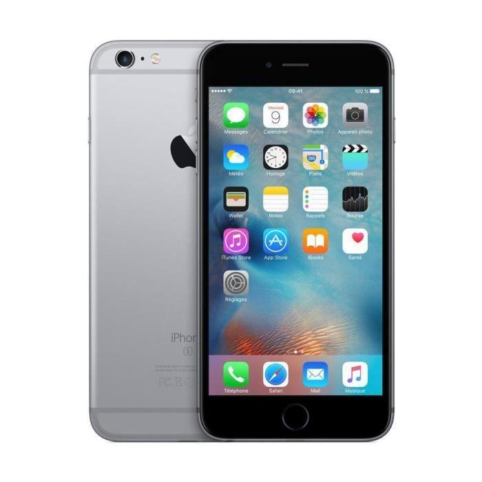 SMARTPHONE APPLE iPhone 6S Plus 64Go Gris sidéral rérateur