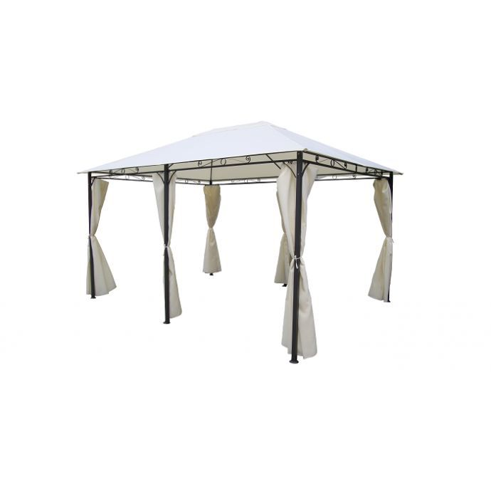 tente de jardin pergola aquaviva 3 x 4 m tres achat vente pergola pergola aquaviva 3x4 m. Black Bedroom Furniture Sets. Home Design Ideas
