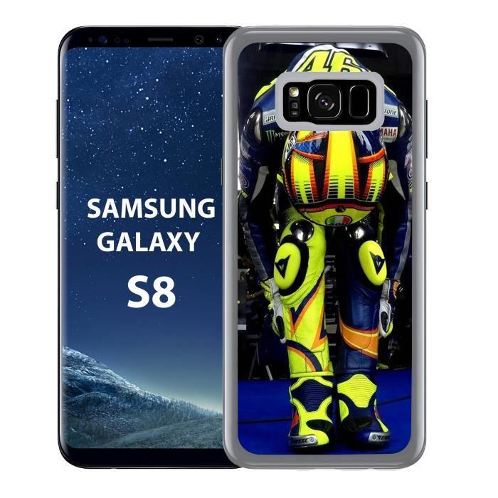 Coque Samsung Galaxy S8 Valentino Rossi Concentrat