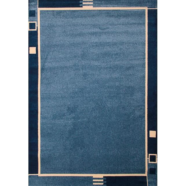 tapis moderne twist 2 bleu 120x170 par les tapis achat vente tapis cdiscount. Black Bedroom Furniture Sets. Home Design Ideas