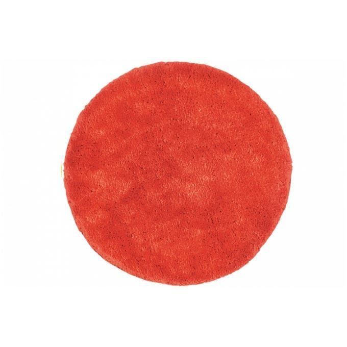 carrelage design tapis rond orange moderne design pour. Black Bedroom Furniture Sets. Home Design Ideas