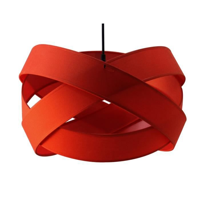 Suspension luminaire bijou rouge metropolight achat for Luminaire suspension rouge