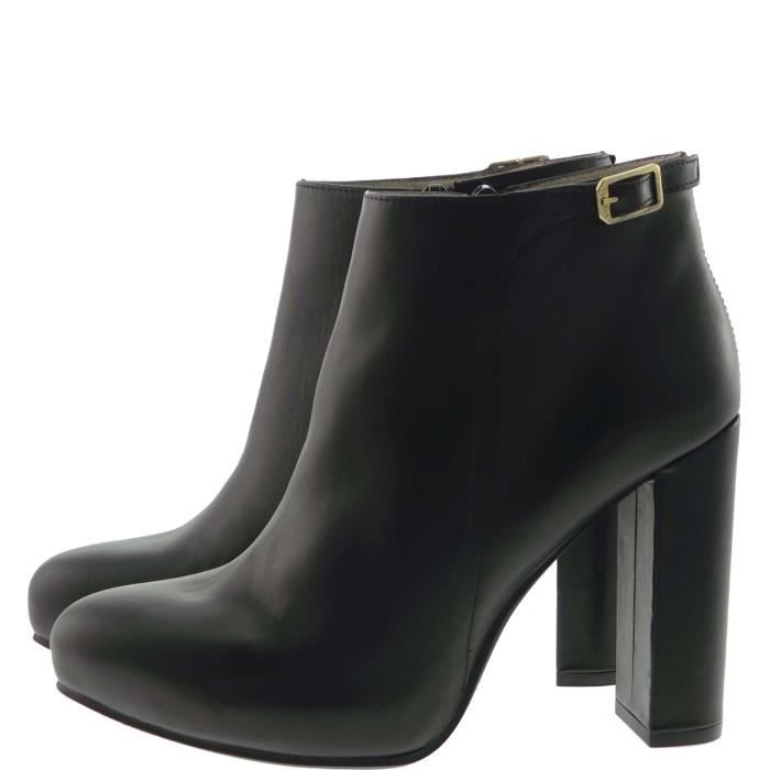 What For Ankle Boots Femme Black, 40