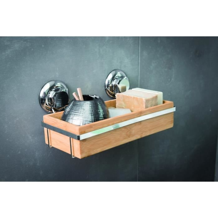 Etag re de bain ventouse bestlock spa achat vente for Etagere salle de bain a ventouse