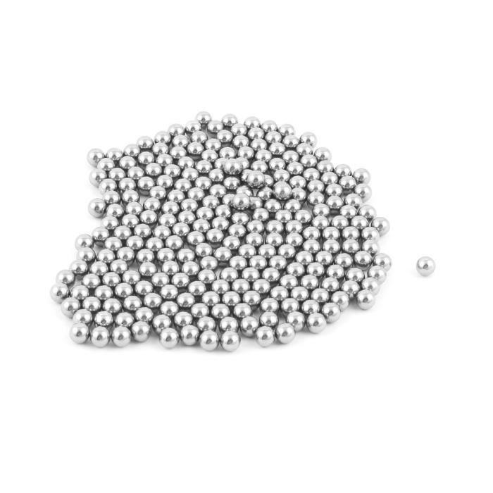 50pcs pi/èces durables de rechange de bille dacier inoxydable de bicyclette 4mm 5mm 6mm 8mm 9mm 10mm v/élo roulement /à billes en acier de bicyclette 5