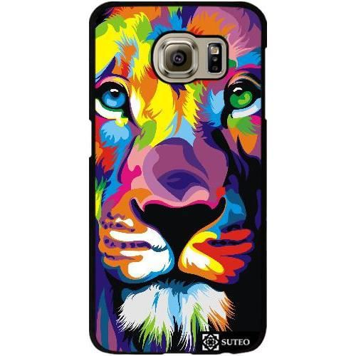 coque samsung galaxy s6 lion