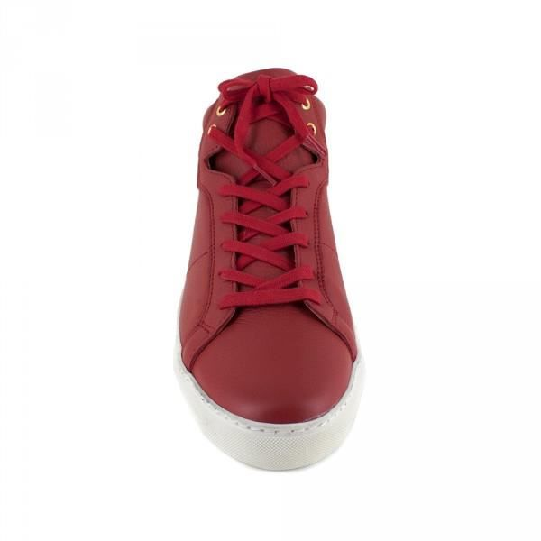 Basket Peter Blade Cuir Rouge MAZATLAND - Couleur - Rouge XgL3f