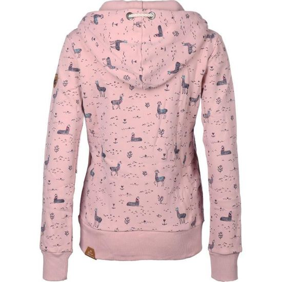 Rose W Achat Zex11 Sweat Angel À Zippé Capuche Ragwear zvT0P