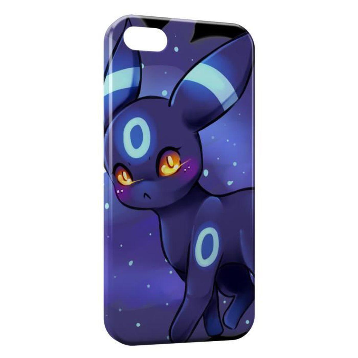 coque iphone 5 5s pokemon violet design