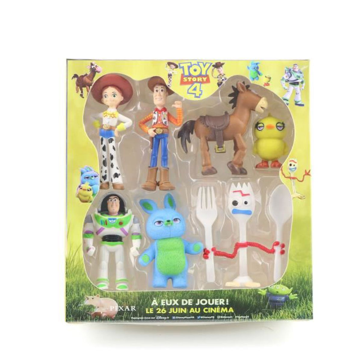 Peluche Pile-Poil Cheval Disney 40 cm Import Japon Toy Story
