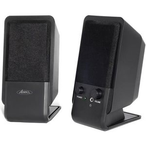 ADVANCE Mini enceintes SP-U800B - 2 W - PC - Noir