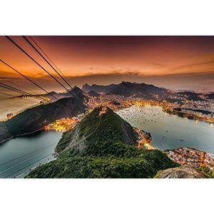 AFFICHE - POSTER Sac De Voyage U21TJ Rio De Janeiro, Brésil - Ville