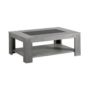 table basse chene gris achat vente table basse chene gris pas cher cdiscount. Black Bedroom Furniture Sets. Home Design Ideas