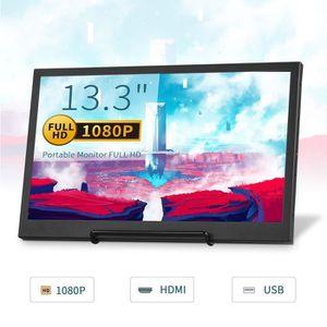ECRAN ORDINATEUR Moniteur TOGUARD Petit écran HD Portable 1920x1080