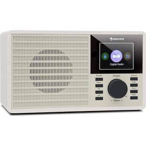 RADIO CD CASSETTE auna DR-160 BT Radio numérique Bluetooth compacte