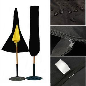 HOUSSE DE PARASOL Housse Protection Parasol de Jardin Etanche(Noir)