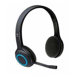 CASQUE AVEC MICROPHONE Logitech Wireless Headset H600 Micro-casque sans-f