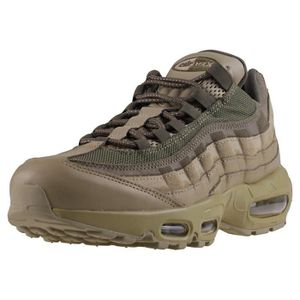 ESPADRILLE Nike Air Max 95 Premium Homme Baskets olive