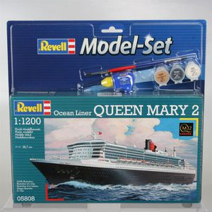 MAQUETTE DE BATEAU REVELL Model Set Queen Mary 2 Maquette à Construir