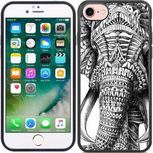 Coque iphone 8 silicone elephant