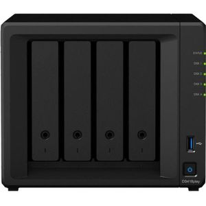 SERVEUR STOCKAGE - NAS  Synology Disk Station DS418Play Serveur NAS 4 Baie