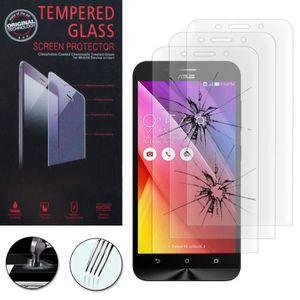 FILM PROTECT. TÉLÉPHONE Pour Asus Zenfone Max ZC550KL: Lot / Pack de 3 Fil