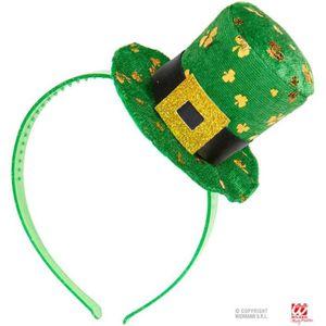 CHAPEAU - PERRUQUE Mini chapeau haut de forme saint-patrick