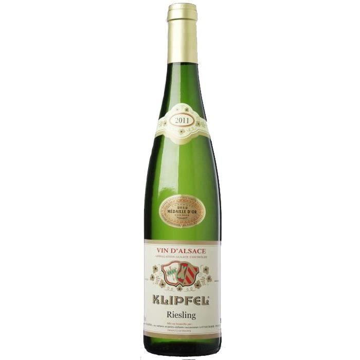 VIN BLANC Klipfel Riesling -  Vin Blanc d'Alsace