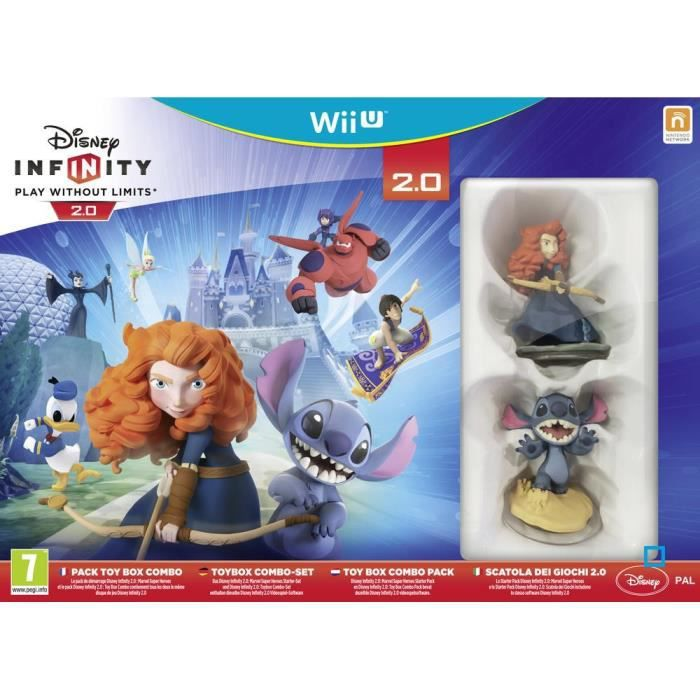 Pack Disney Infinity 2 0 Toy Box Combo Wii U Achat